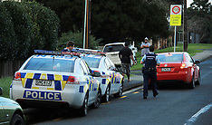 Auckland-Police pursuit through Te Atatu