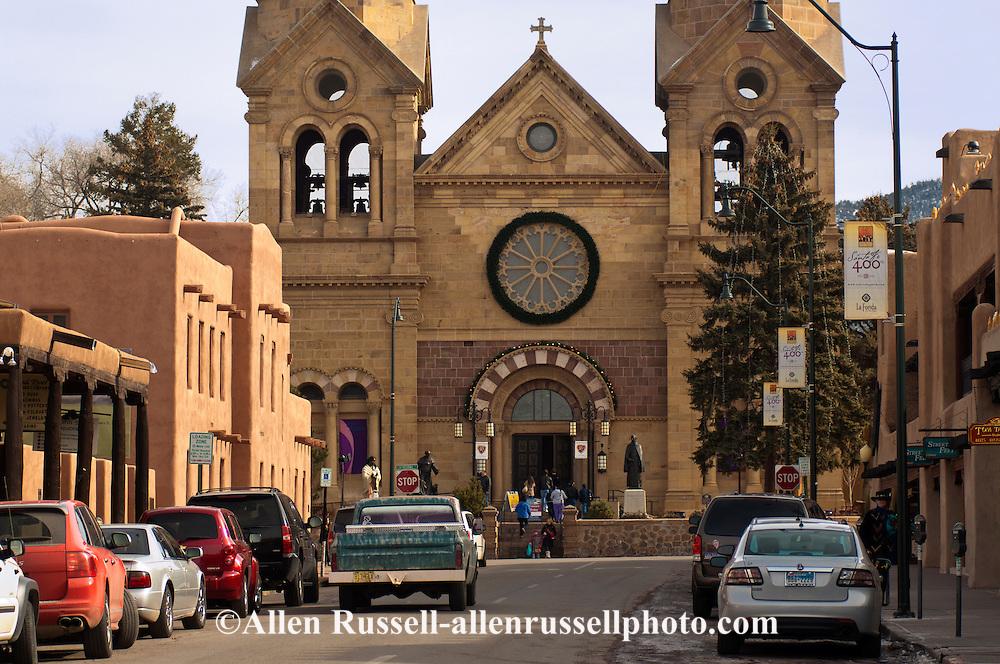 The Cathedral Basilica of St. Francis of Assisi, Saint Francis Cathedral, Santa Fe, New Mexico