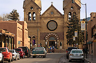 The Cathedral Basilica of St. Francis of Assisi, Saint Francis Cathedral, Santa Fe, New Mexico