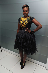 Singer ESTELLE at The Reuben Foundation and Virgin Unite Haiti Fundraising dinner held at Altitude 360 in Millbank Tower, London on 26th May 2010.