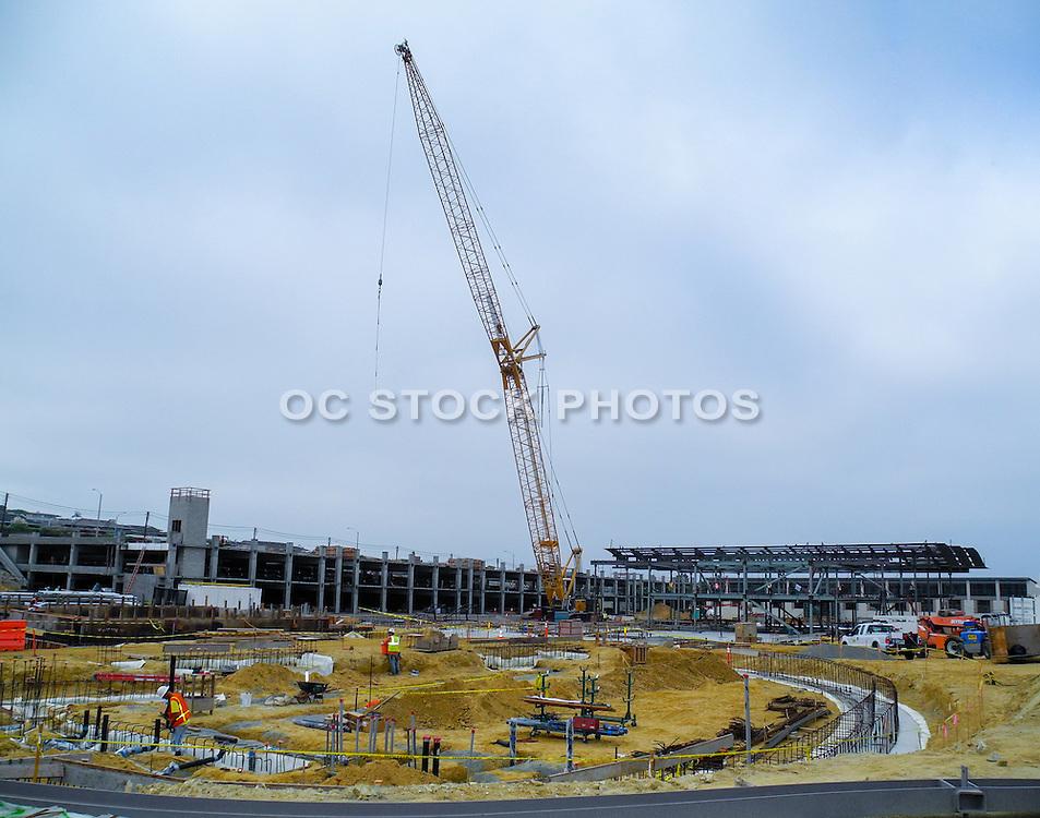 Newport Beach City Hall During Construction
