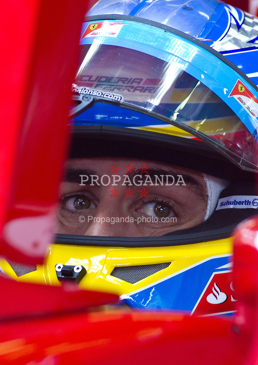 26.08.2011, Circuit de Spa, Francorchamps, BEL, F1, Grosser Preis von Belgien, 2 Freies Training, im Bild Fernando Alonso (ESP), Scuderia Ferrari // during practice two at Formula One Championships 2011 Belgian Grand Prix held at the Circuit de Spa, Francorchamps, Belgium, 26/8/2011, EXPA Pictures © 2011, PhotoCredit: EXPA/ J. Groder