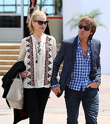 Actress Nicole Kidman and husband musician Keith Urban  at the Agora restaurant in Cannes. Cannes Film Festival. France. 19/05/2013<br />BYLINE MUST READ : JAMESY/GOTCHA IMAGES<br /><br />Copyright by © Gotcha Images Ltd. All rights reserved.<br />Usage of this image is conditional upon the acceptance <br />of Gotcha Images Ltd, terms and conditions available at<br />www.gotchaimages.com