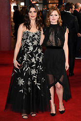 Rachel Weisz and Holliday Grainger attending the world premiere of My Cousin Rachel, held at Picturehouse Central Cinema in Piccadilly, London. Photo Copyright should read Doug Peters/EMPICS Entertainment
