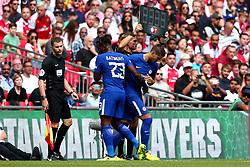 Alvaro Morata of Chelsea replaces Michy Batshuayi of Chelsea - Mandatory by-line: Robbie Stephenson/JMP - 06/08/2017 - FOOTBALL - Wembley Stadium - London, England - Arsenal v Chelsea - FA Community Shield