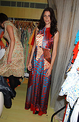 LIBERTY ROSS at a fashion show by ISSA held at Cocoon, 65 Regent Street, London on 21st September 2005.<br />