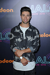 November 11, 2016 - New York, NY, USA - November 11, 2016  New York City..Jake Miller attending the 2016 Nickelodeon HALO awards at Basketball City Pier 36  South Street on November 11, 2016 in New York City. (Credit Image: © Callahan/Ace Pictures via ZUMA Press)