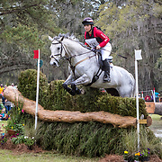 Autumn Smith (CAN) and Mercury at the Red Hills International Horse Trials in Tallahassee, Florida.