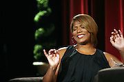 Queen Latifah at A Conversation with a Queen presented by the 2008 Urbanworld Film Festival and BET Networks at The Directors Guild of America in NYC on September 13, 2008