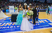 Miss Elizabeth City State University's Brittney Danielle Lamb was crowned the 2017 Miss CIAA