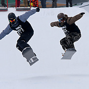 Action from the 2009 Uni Snow Games, 30 August - 2 Setember 2009, in Wanaka, New Zealand. Photo by Paul J Roberts, RobertsSports Photography.