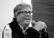 "Washington Times reporter David Maraniss speaks on the panel ""From McCarthy to Trump: The echoes of history"" at the Cap Times 2017 Idea Fest, Sunday, September 17, 2017"