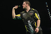 Daryl Gurney during the PDC Premier League Darts at Arena Birmingham, Birmingham, United Kingdom on 25 April 2019.