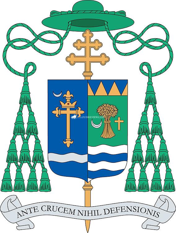 Archbishop Robert J. Carlson's Coat of Arms