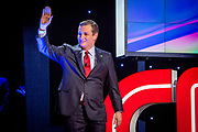 Presidential hopeful Ted Cruz (R-Tx) before the CNN Republican Presidential Debate at the Venetian Hotel and Casino in Las Vegas.