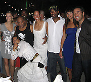 **EXCLUSIVE**.Helena, Quincy Jones,Jeremy Pivens & Michelle Rodriguez.The Cain on The Cove Hotel Opening.Paradise Island, Bahamas.Friday, May 11, 2007 .Photo By Celebrityvibe.To license this image please call (212) 410 5354; or.Email: celebrityvibe@gmail.com ;