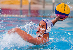 Andraz Verac of Rokava Koper during water polo match between ASD Vaterpolo Rokava Koper and AVK Triglav Kranj in 3rd Round of Final of Slovenian Water polo National Championship, on June 8, 2011 in Zusterna pool, Koper, Slovenia. Rokava Koper defeated Triglav Kranj 12-6 and became Slovenian Champion 2011. (Photo By Vid Ponikvar / Sportida.com)