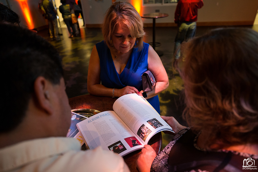 Content Magazine hosts its Pick Up Party for Subscribers at the Hammer Theatre in downtown San Jose, California, on August 17, 2017. (Stan Olszewski/SOSKIphoto for Content Magazine)