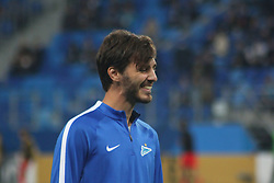 September 28, 2017 - Saint-Petersburg - Of The Russian Federation. Saint-Petersburg. Zenit-arena. Arena Saint-Petersburg. Match Of The UEFA Europa League. Zenit beat real Sociedad with the score 3:1 in the match of UEFA Europa League. Player Alexandr Erokhin. (Credit Image: © Russian Look via ZUMA Wire)