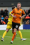 Harry Taylor of Barnet during the EFL Sky Bet League 2 match between Barnet and Coventry City at Underhill Stadium, London, England on 7 October 2017. Photo by Toyin Oshodi.