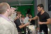 Media At Large Launch party held  in their studio in midtown, NYC on June 25,2008.