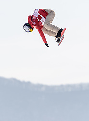 19.02.2018, Alpensia Ski Jumping Centre, Pyeongchang, KOR, PyeongChang 2018, Snowboard, Damen, Big Air, im Bild Isabel Derungs (SUI) // Yuka Fujimori of Japan during the Ladies Snowboard Big Air of the Pyeongchang 2018 Winter Olympic Games at the Alpensia Ski Jumping Centre in Pyeongchang, South Korea on 2018/02/19. EXPA Pictures © 2018, PhotoCredit: EXPA/ Johann Groder