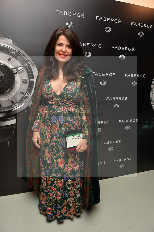 DANIELLA HELAYEL at the Fabergé #SayYesInColour Launch held at Rook & Raven, 7 Rathbone Place, London on 20th October 2016.