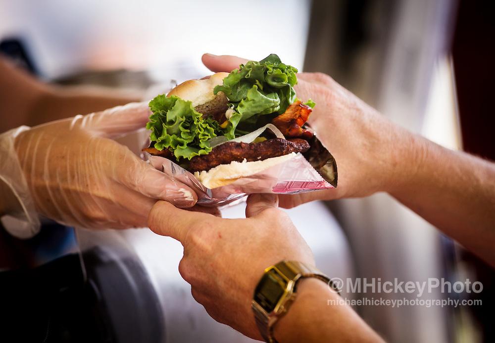 Carnival Food - Fried tenderloin sandwich