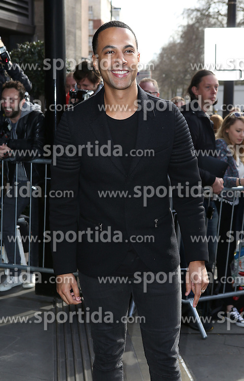 Marvin Humes attends the TRIC Awards (Television and Radio Industries Club) at Grosvenor House Hotel on March 10, 2015 in London, England. EXPA Pictures &copy; 2015, PhotoCredit: EXPA/ Photoshot/ James Shaw<br /> <br /> *****ATTENTION - for AUT, SLO, CRO, SRB, BIH, MAZ only*****