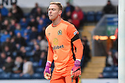 Blackburn Rovers GoalKeeper, Jason Steele (1) during the EFL Sky Bet Championship match between Blackburn Rovers and Huddersfield Town at Ewood Park, Blackburn, England on 3 December 2016. Photo by Mark Pollitt.