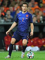 Fotball<br /> 31.05.2014<br /> Privatlandskamp<br /> Nederland v Ghana<br /> Foto: Witters/Digitalsport<br /> NORWAY ONLY<br /> <br /> Daryl Janmaat (Niederlande)<br /> Fussball, Testspiel, Niederlande - Ghana 1:0