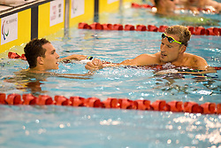TARASOV Denis, ROZOY Charles RUS, FRA at 2015 IPC Swimming World Championships -  Men's 100m Butterfly S8