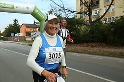 Kazimira Luznik compete during 21km and 42km run at 19th Ljubljana Marathon 2014 on October 26, 2014 in Ljubljana, Slovenia. Photo by Vid Ponikvar / Sportida.com