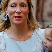 ITA/Parma/20120929- Doop prinses Luisa Irene, prinses Margarita