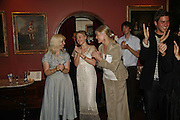 CLAIRE VAN KAMPEN, JULIET RYLANCE AND VANESSA REDGRAVE Vanessa Redgrave and Thelma Holt host a reception at the<br />Theatre Museum in Russell Street (in Covent Garden) to campaign proposed move of museum out of the West End. Tuesday 16 May 2006ONE TIME USE ONLY - DO NOT ARCHIVE  © Copyright Photograph by Dafydd Jones 66 Stockwell Park Rd. London SW9 0DA Tel 020 7733 0108 www.dafjones.com