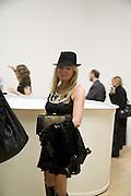 Fru Tholstrup, Turner Prize: A Retrospective. Opening party. Tate Millbank. London. 2 October 2007. -DO NOT ARCHIVE-© Copyright Photograph by Dafydd Jones. 248 Clapham Rd. London SW9 0PZ. Tel 0207 820 0771. www.dafjones.com.
