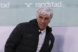 May 19, 2019 - Turin, Piedmont, Italy - Gian Piero Gasperini, head coach of Atalanta BC, during the Serie A football match between Juventus FC and Atalanta BC at Allianz Stadium on May 19, 2019 in Turin, Italy. (Credit Image: © Massimiliano Ferraro/NurPhoto via ZUMA Press)