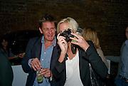 JAKE GAVIN; LADY SOPHIA HESKETH, Favela Descending. Gerry Fox.  Part of Concrete and Glass. Village Underground. Hollywell Lane.  London. 2 October 2008 *** Local Caption *** -DO NOT ARCHIVE-© Copyright Photograph by Dafydd Jones. 248 Clapham Rd. London SW9 0PZ. Tel 0207 820 0771. www.dafjones.com.