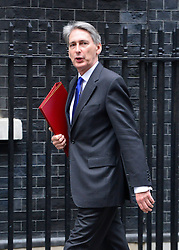 © Licensed to London News Pictures. 23/10/2012. Westminster, UK Defence Secretary Philip Hammond. Ministers attend a Cabinet Meeting in 10 Downing Street today 23 October 2012. Photo credit : Stephen Simpson/LNP
