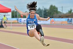04/08/2017; Silvey, Erica, F44, USA at 2017 World Para Athletics Junior Championships, Nottwil, Switzerland
