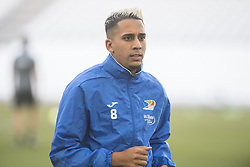 July 26, 2017 - Marseille, FRANCE - Oostende's Yassine El Ghanassy pictured during a training session of Belgian first division soccer team KV Oostende ahead of the first leg of the third qualifying round for the UEFA Europa League competition, Wednesday 26 July 2017 in Marseille. KV Oostende plays against Olympic Marseille on Thursday. BELGA PHOTO LAURIE DIEFFEMBACQ (Credit Image: © Laurie Dieffembacq/Belga via ZUMA Press)