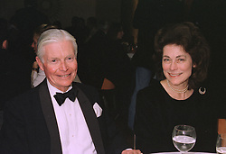 SIR CHRISTOPHER & LADY LEVER at a dinner in London on October 16th 1997.<br /> MCF 16
