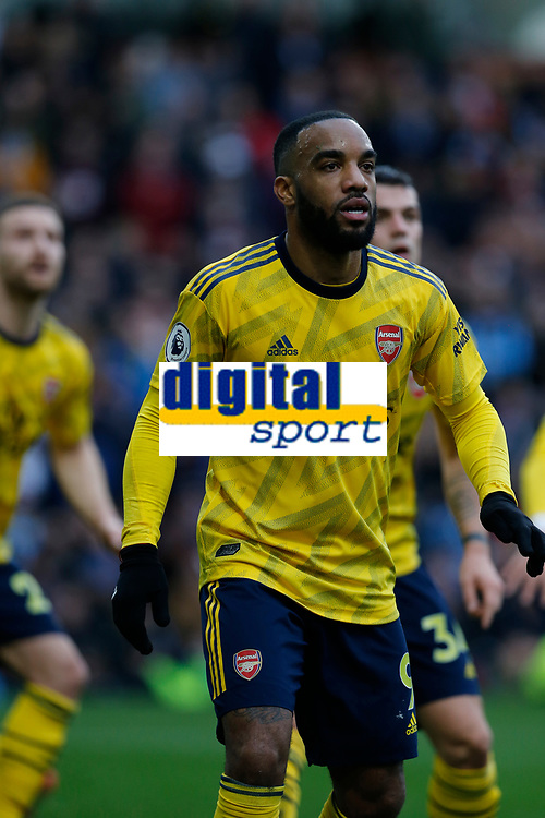 Football - 2019 / 2020 Premier League - Burnley vs. Arsenal<br /> <br /> Alexandre Lacazette of Arsenal, at Turf Moor.<br /> <br /> <br /> COLORSPORT/ALAN MARTIN