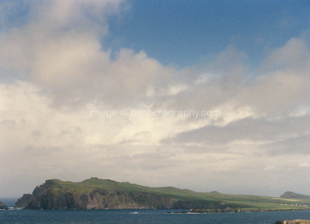 County Kerry Ireland, grainy landscape