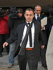 MAR 21 2013 Michael Le Vell  at  Manchester Crown court