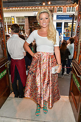 Singer NATALIE COYLE at a Gala Performance of Impossible at the Noël Coward Theatre, 85-88 Saint Martin's Lane, London on 13th July 2016.