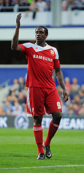 Swindon Town's Nile Ranger  - Photo mandatory by-line: Seb Daly/JMP - Tel: Mobile: 07966 386802 27/08/2013 - SPORT - FOOTBALL - Loftus Road - London - Queens Park Rangers V Swindon Town -  Capital One Cup - Round 2
