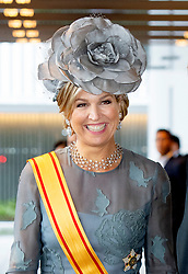 Crown Princess Victoria of Sweden leave at the hotel to go to the Imperial Palace in Tokyo, on October 22, 2019, to attend the inauguration of Emperor Naruhito. 22 Oct 2019 Pictured: Queen Maxima of The Netherlands leave at the hotel to go to the Imperial Palace in Tokyo, on October 22, 2019, to attend the inauguration of Emperor Naruhito Photo: Albert Nieboer / Netherlands OUT / Point de Vue OUT Set ID: 602849. Photo credit: EliotPress / ELIOTPRESS / MEGA TheMegaAgency.com +1 888 505 6342
