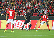 Manchester United Midfielder Daley Blind during the Champions League match between Benfica and Manchester United at Estadio da Luz, Benfica, Portugal on 18 October 2017. Photo by Ahmad Morra.
