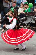 Goshen, New York - The 40th annual Mid-Hudson St. Patrick's Parade was held  on March 13, 2016.